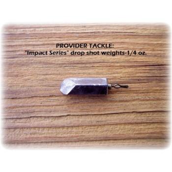 """Impact Series"" Drop Shot Weights - 1/4oz, 12pk"
