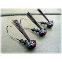 """Rapture Series"" Football Jig Head - Black-Blue Unskirted (1 pack)"