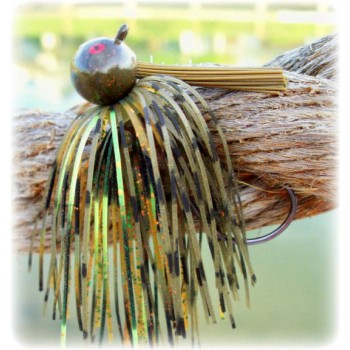 """Rapture Series"" Football Jig - Chartreuse Craw"