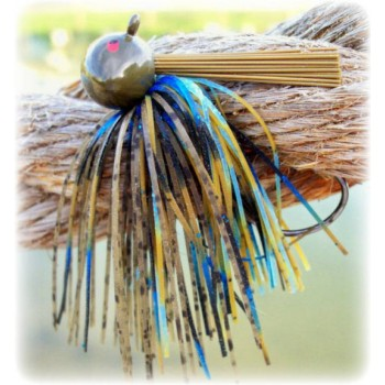 """Rapture Series"" Football Jig - Molting Craw"
