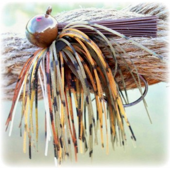 """""""Rapture Series"""" Football Jig - White Belly Craw"""