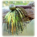 """Rapture Series"" Football Jig - Yellow Perch"