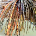 Custom Jig Skirt - Orange Craw (2 Pack)