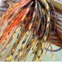 Custom Jig Skirt - Ozark Orange (2 Pack)