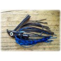 """Cut 'n Edge"" Swim Jig - Black / Blue"