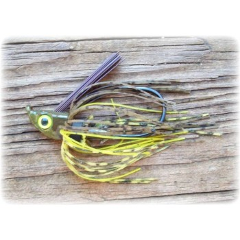 """Cut 'n Edge"" Swim Jig - Glory Craw"