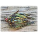 """Cut 'n Edge"" Swim Jig - Militant Craw"