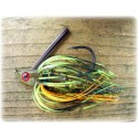 """Cut 'n Edge"" Swim Jig - Yellow Perch"